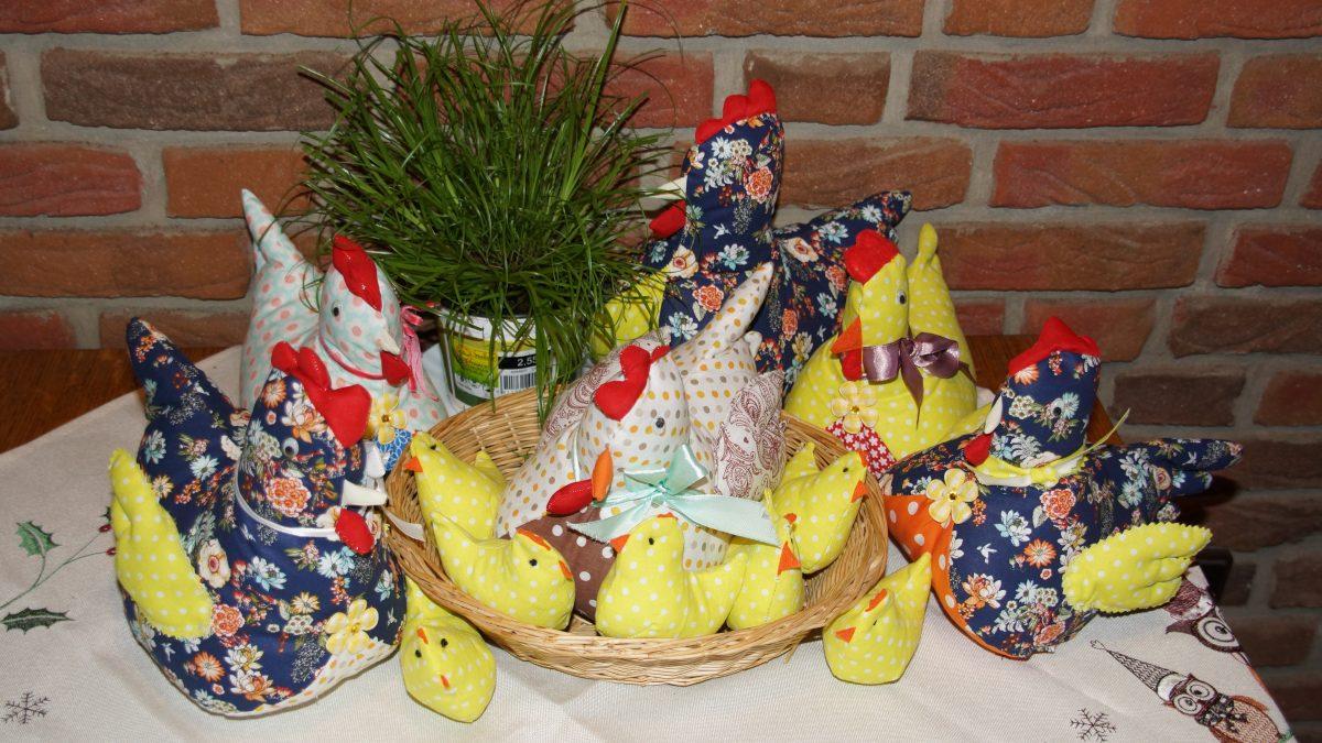 Die Hühner sind los….